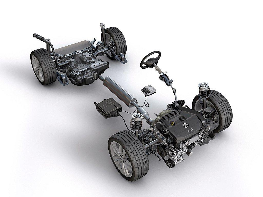經由48V輕油電動力系統輔助,第八代福斯Golf油耗測試每公升最高可超過20公里...