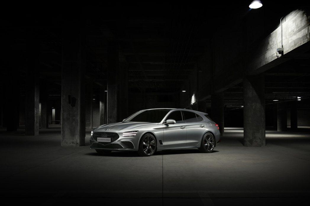 全新Genesis G70 Shooting Brake是品牌首部旅行車。 摘自...