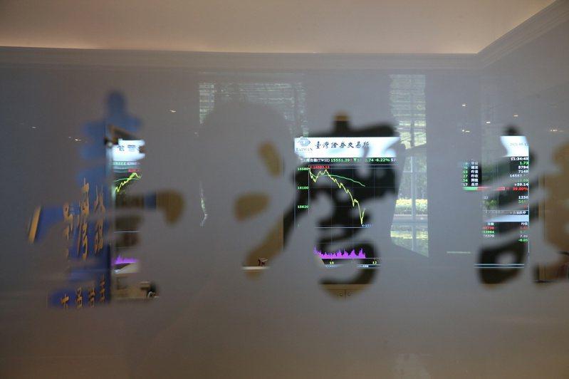 台股今天跌破萬六大關,位於101大樓的證交所也一度暫停開放,避免看盤的人群聚。 記者邱德祥/攝影