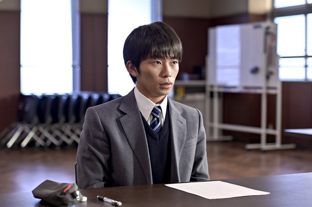 加藤清史郎飾演天野晃一郎。圖/擷自東大特訓班2官方推特