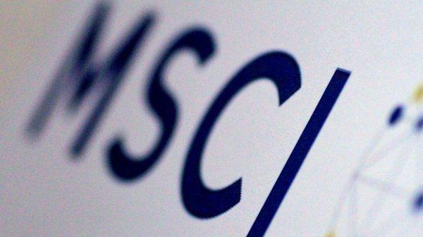 MSCI5月12日公布權重調整。路透