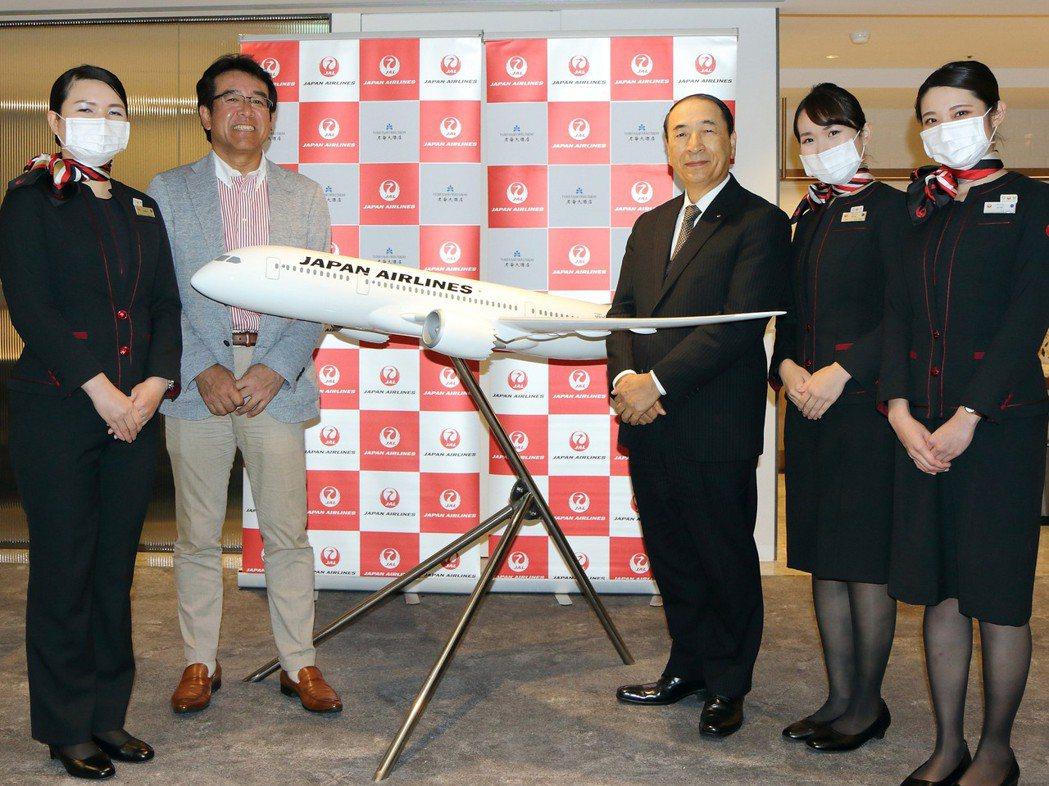 日本航空與台北老爺酒店共同推出空中饗宴住房專案。台北老爺/提供