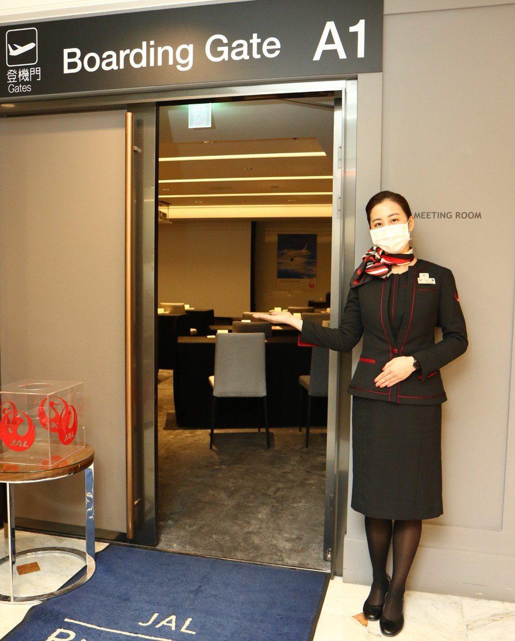 日航現役空服員全程現場服務、提供如機上一般舒適感受。台北老爺/提供