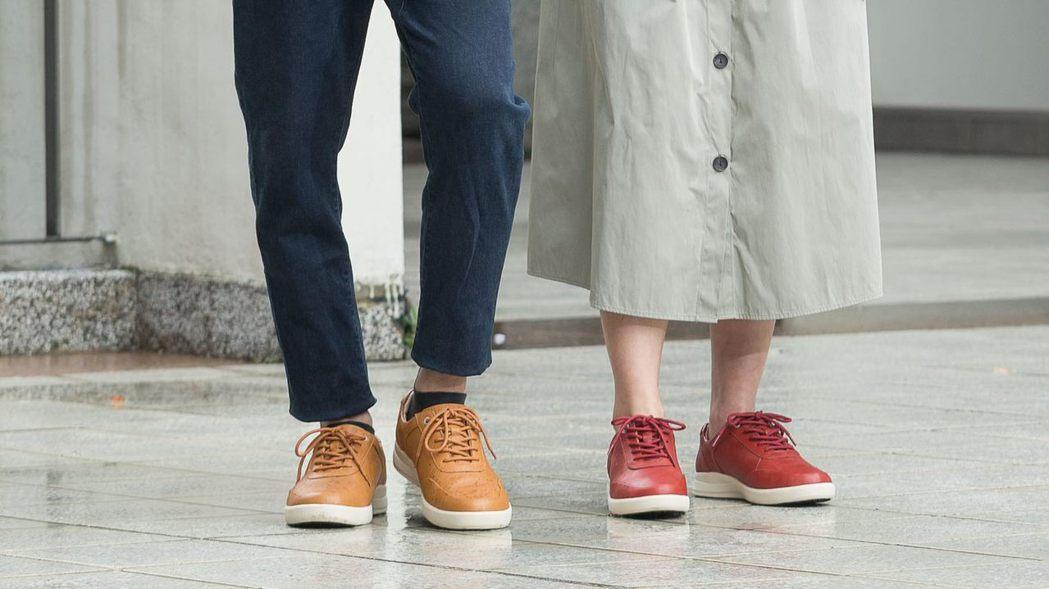 在都市行走時建議選用鞋底加強止滑結構之鞋款。 LA NEW/提供