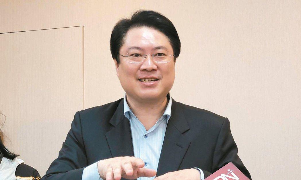 基隆市長林右昌。記者游明煌/攝影