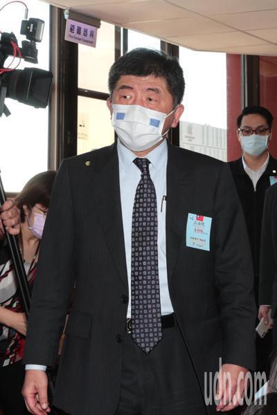 衛福部長陳時中上午到立法院衛環委員會,專題報告並備詢。記者蘇健忠/攝影