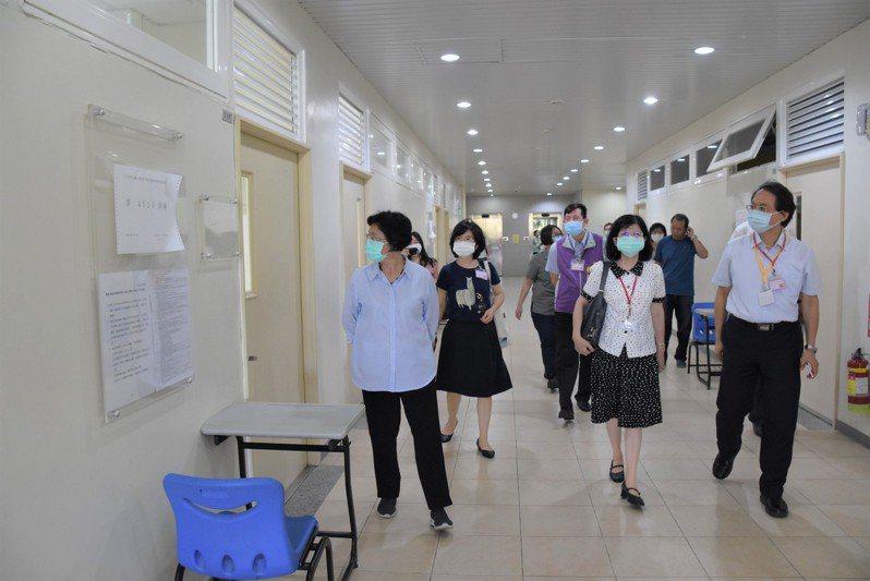 為防堵疫情進校園,彰化縣各校在6月8日前暫停開放校園。圖/彰化縣府提供