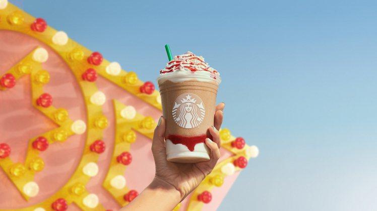 星巴克預計今年夏天將推出「草莓漏斗蛋糕」口味的星冰樂,也是星巴克暌違3年多以來首...