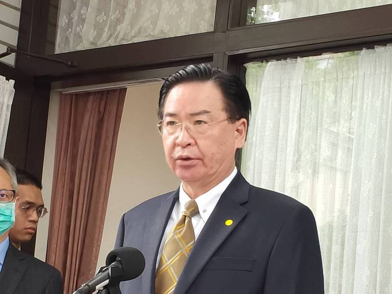 外交部長吳釗燮。本報系資料照