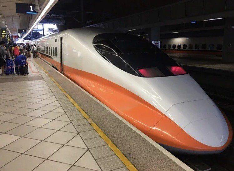 台灣高鐵示意圖。聯合報系資料照
