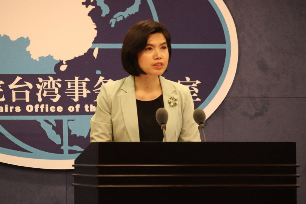 大陸國台辦發言人朱鳳蓮。記者呂佳蓉/攝影