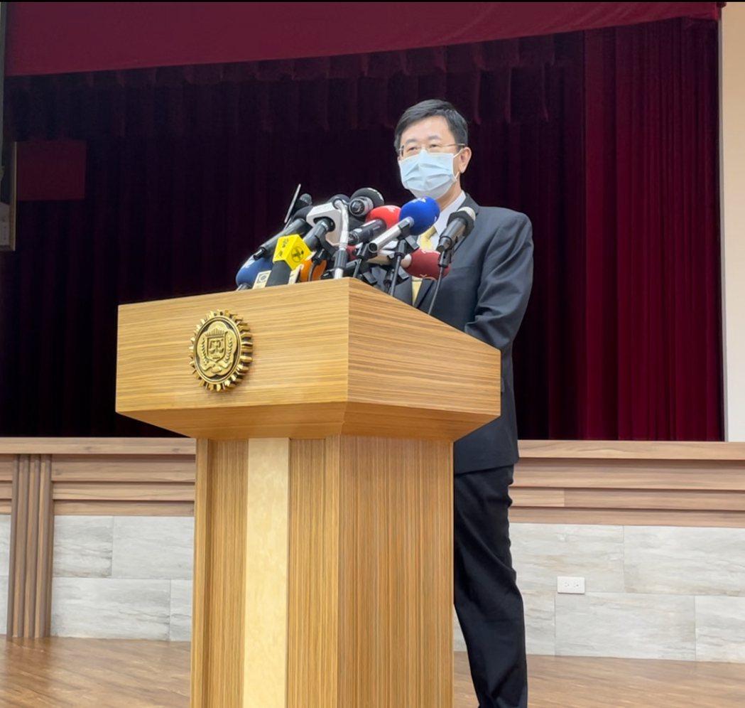 調查局長呂文忠。圖/資料照片
