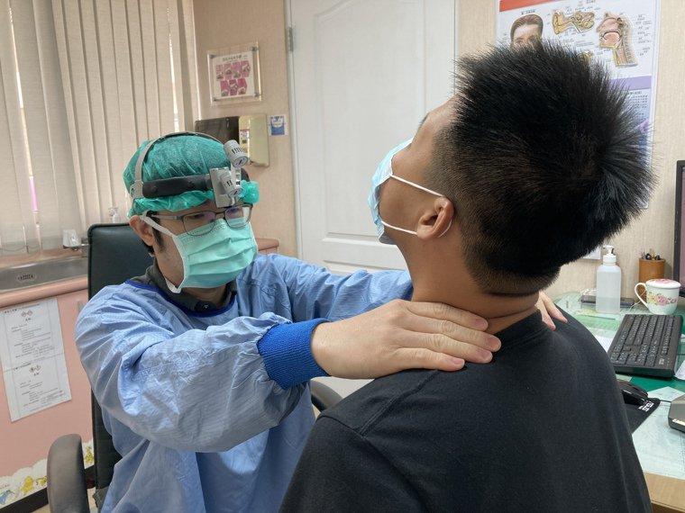 李尚儀表示,如發現甲狀腺出現腫塊,應到醫院檢查,及早發現是否為甲狀腺腫瘤。圖/南...