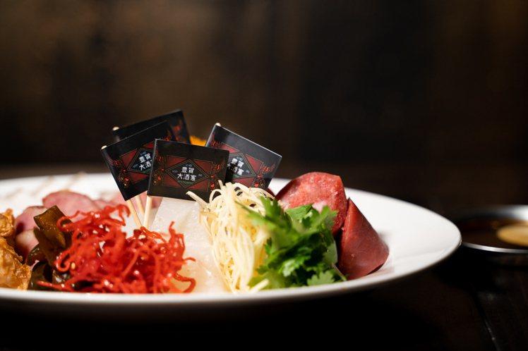 原訂於「虎豊賀」活動中推出的「台南人的下午小點」,還原府城經典的香腸熟肉。圖 /...