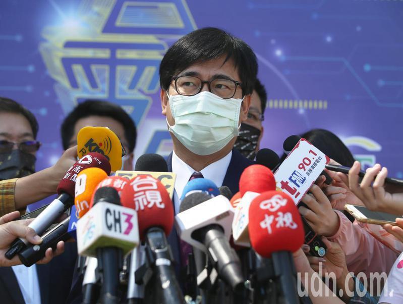 高雄市長陳其邁。聯合報記者劉學聖/攝影