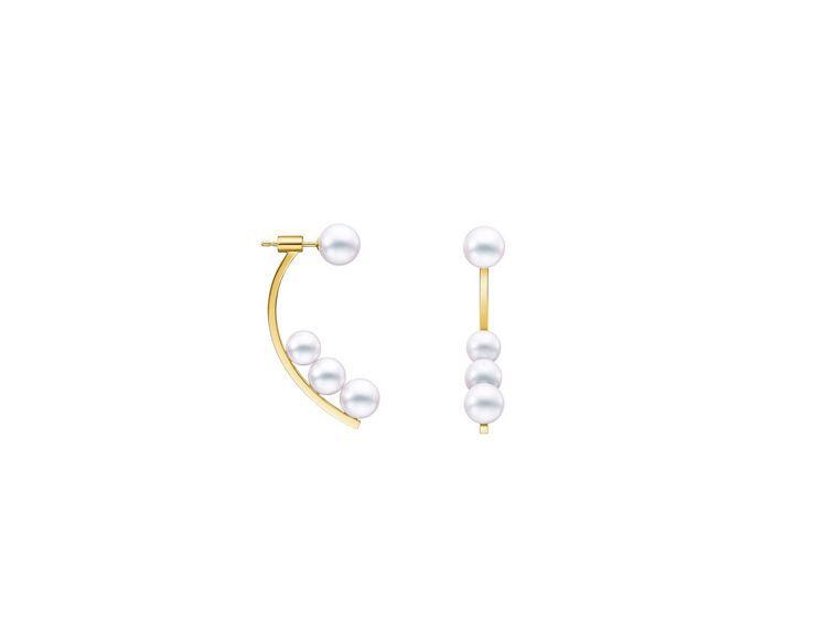 TASAKI kinetic耳環,11萬7,000元。圖/TASAKI提供