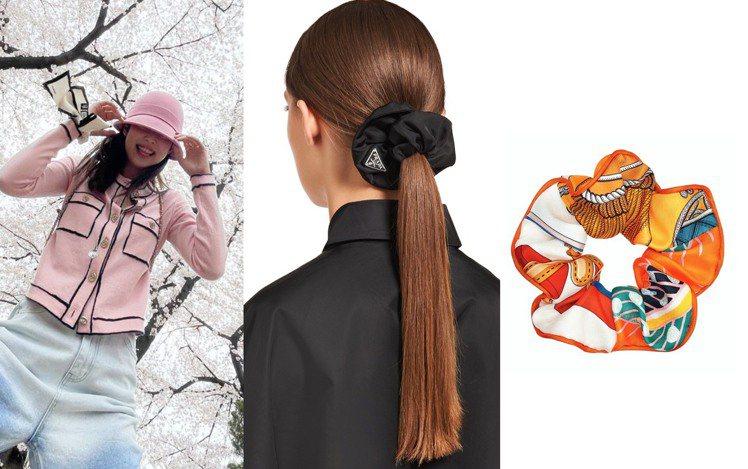 從去年開始,復古的大腸髮圈就再度成為造型寵兒,許多精品品牌也紛紛新推出這個在80...