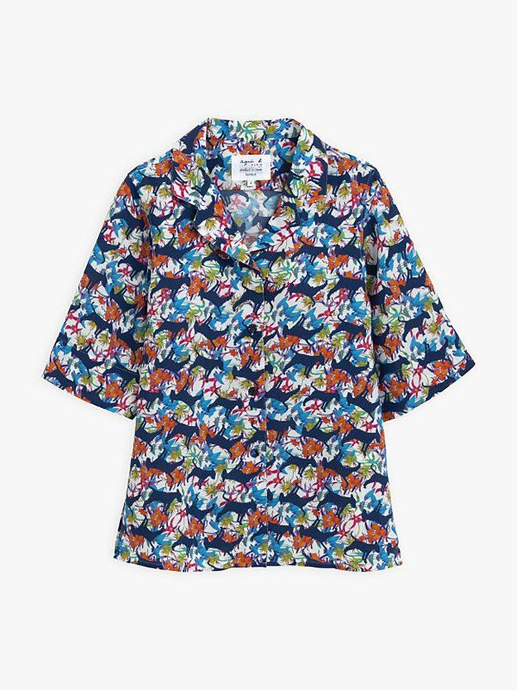 Aurèle夏威夷襯衫,8,980元。圖/agnès b.提供