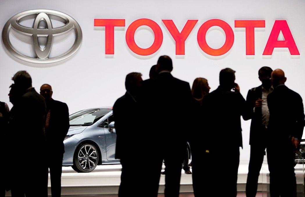 豐田上季營業利益比去年同期暴增92%。路透
