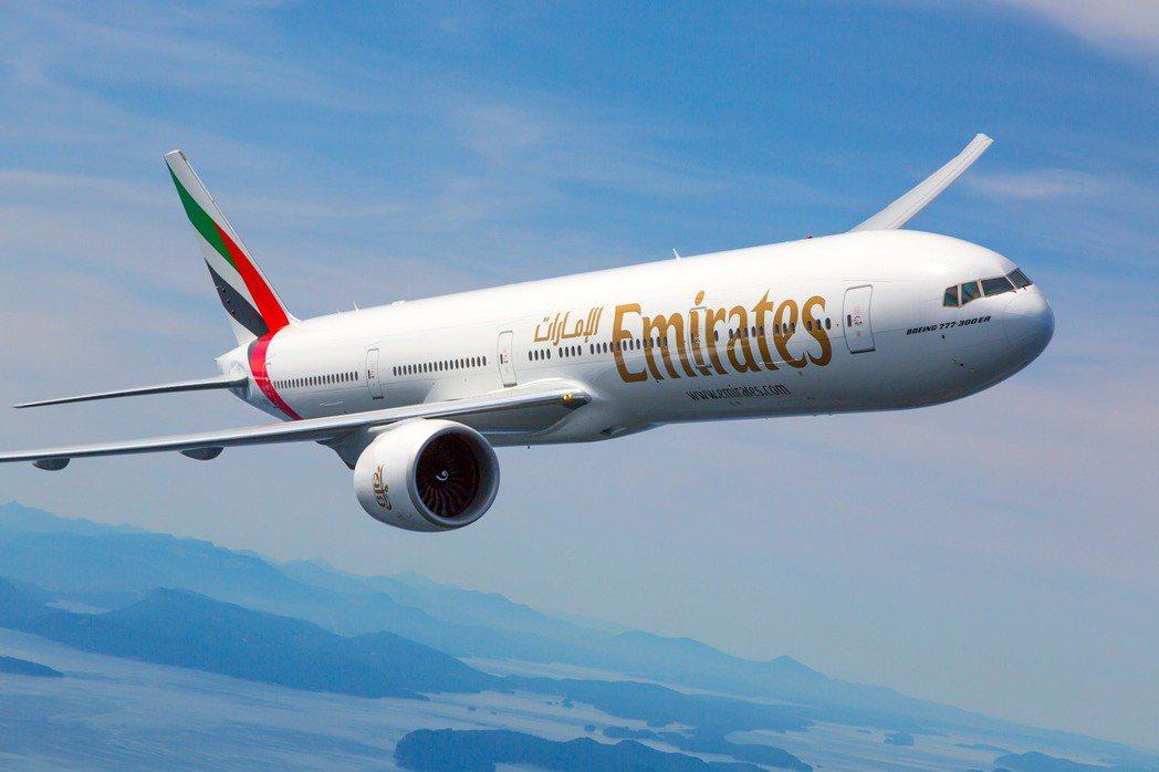 印度疫情急遽升溫,阿聯酋航空宣布成立杜拜-印度的人道援助空橋計畫。圖/阿聯酋航空...