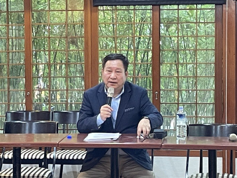 南港副董事長、泰豐董事趙國帥。 記者林海/攝影