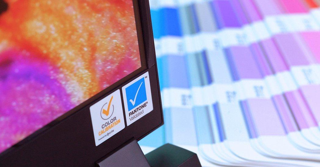AERO筆電忠實呈現影像本色,首獲世界唯一色彩權威雙重校色認證。圖/技嘉提供