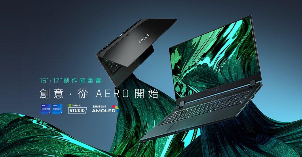 技嘉AERO創作者筆電以嶄新面貌登場,搭載第11代Intel Core最新版本。...