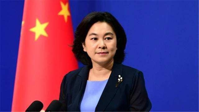 大陸外交部發言人華春瑩。圖/取自央視截圖