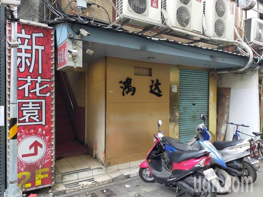 「鴻達茶藝館」位在茶室、阿公店林立的三水街上。記者李隆揆/攝影