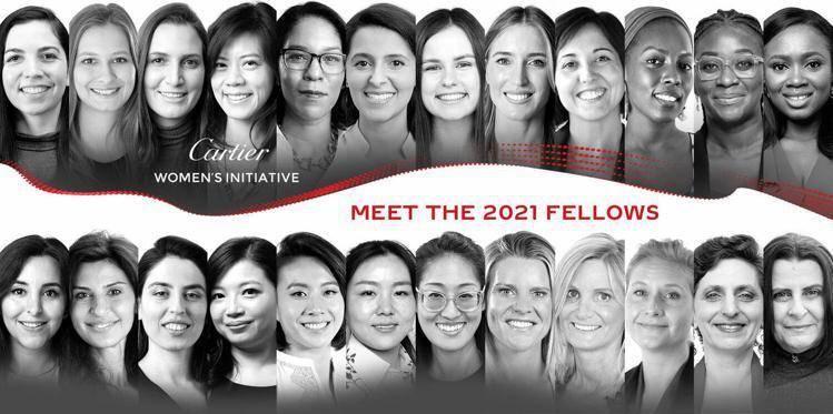 2021年卡地亞「靈思湧動女性創業家獎」入圍名單揭曉。圖/卡地亞提供