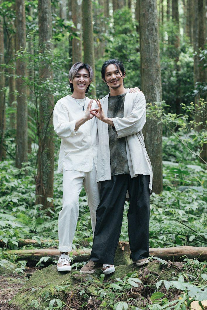 炎亞綸(左)和姚淳耀在「我願意」劇組有很爆炸性的演出。圖/絡思本娛樂製作公司提供