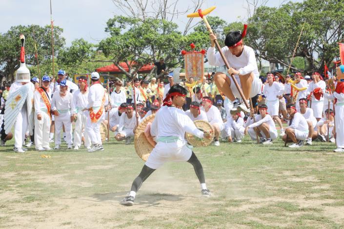 3年一科有「台灣第一香」之稱的西港刈香, 22日將登場。圖/市府提供