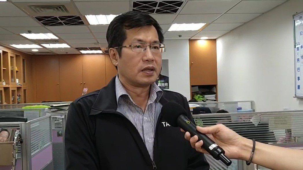 立法院民進黨團書記長羅致政。記者吳亮賢/攝影