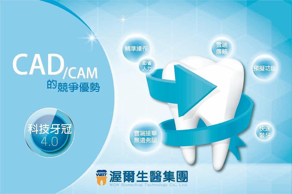 渥爾生醫透過數位化醫材設備與系統的開發建置,邁進牙科4.0新里程。櫃買中心/提供