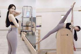 人間極品養成!韓國火辣皮拉提斯教練10招「伸展運動」特輯!一週練出螞蟻腰、蜜桃臀,「黃金比例」身材這樣做