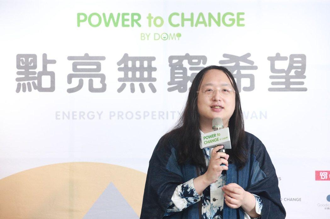 行政院政委唐鳳表示, 「Power to Change!點亮無窮希望」計畫是以...
