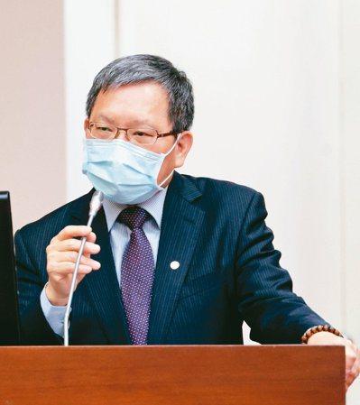 財政部長蘇建榮。記者蘇健忠/攝影