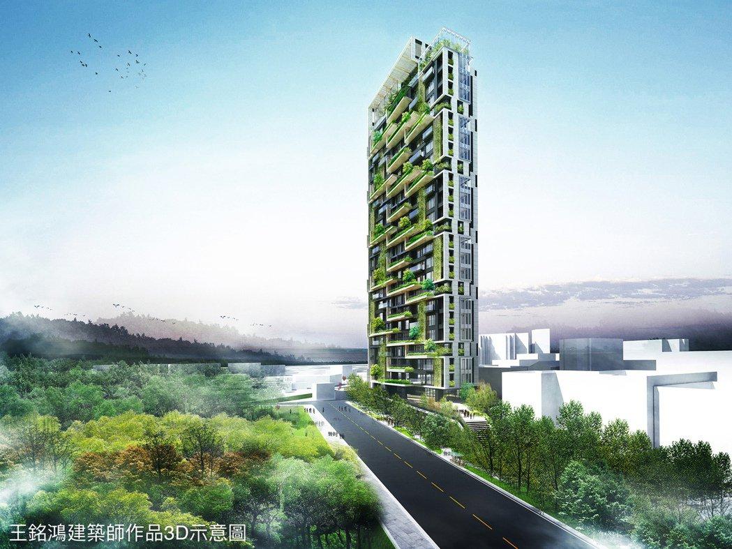 王銘鴻建築師創建moonpark。 業者/提供