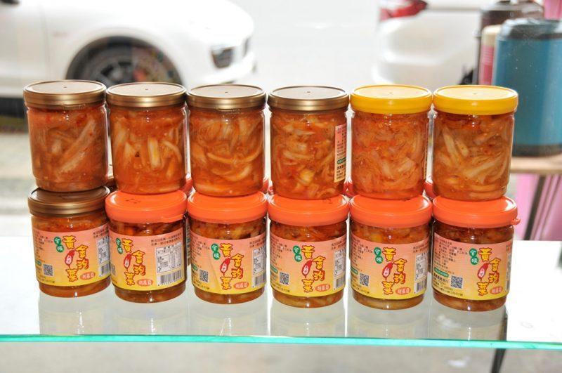 水果黃金泡菜目前已經研發出十種口味。業者/提供