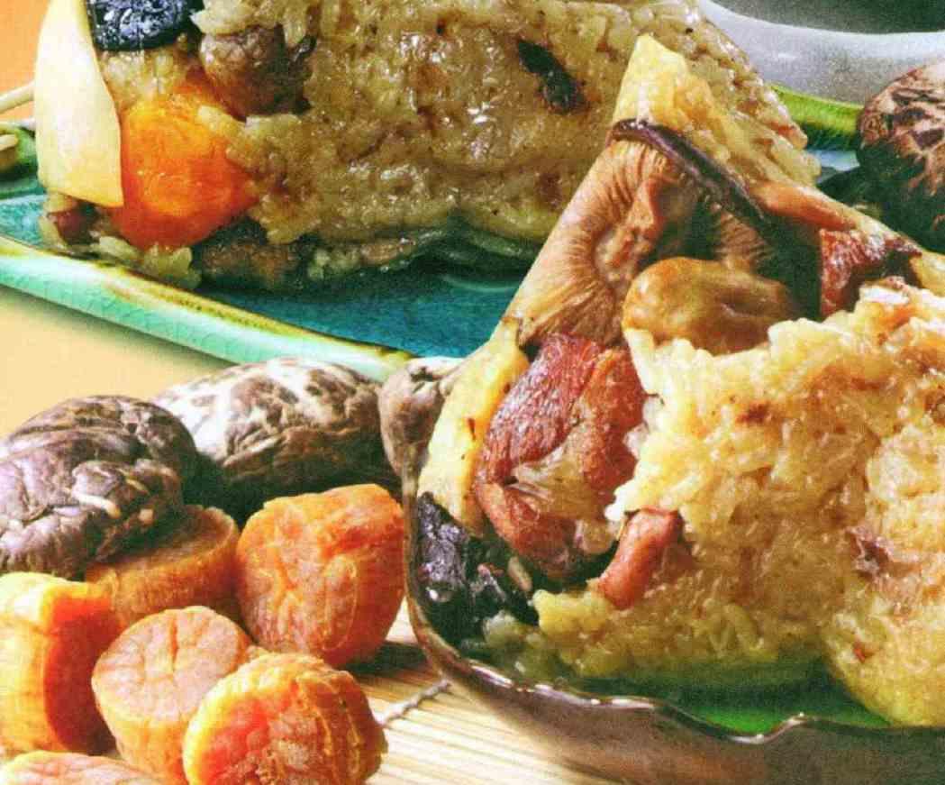 呷七碗肉粽料多味美,家鄉味十足。 嘉義食品生技公司/提供