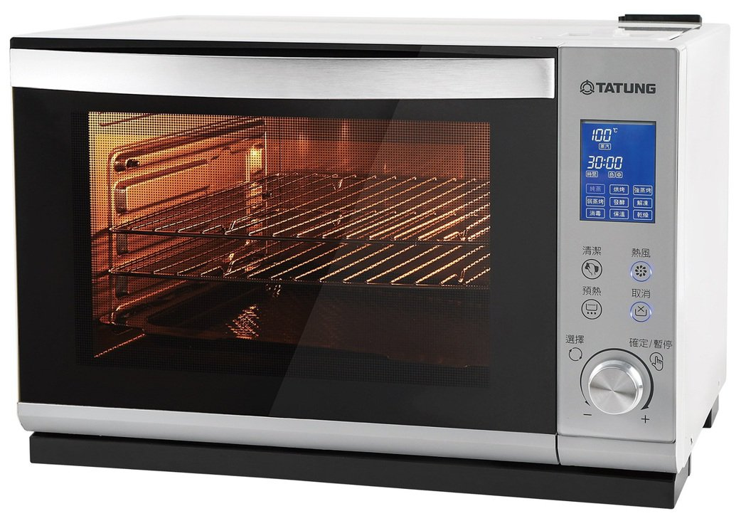 大同28L全功能蒸烤箱 TOT-S2806EA。業者/提供