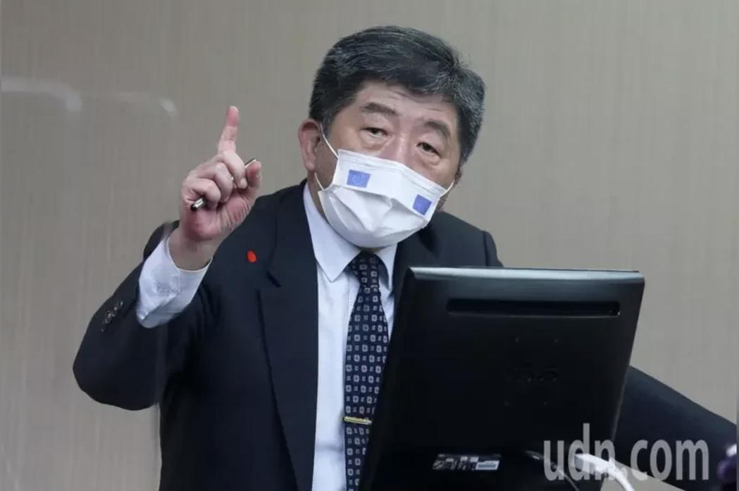 衛福部長陳時中今天出席立法院衛環委員會。記者胡經周/攝影