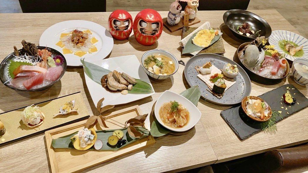 「一貫手作壽司」的價位比其它同業親民許多,但所有食材絕不馬虎。記者宋健生/攝影