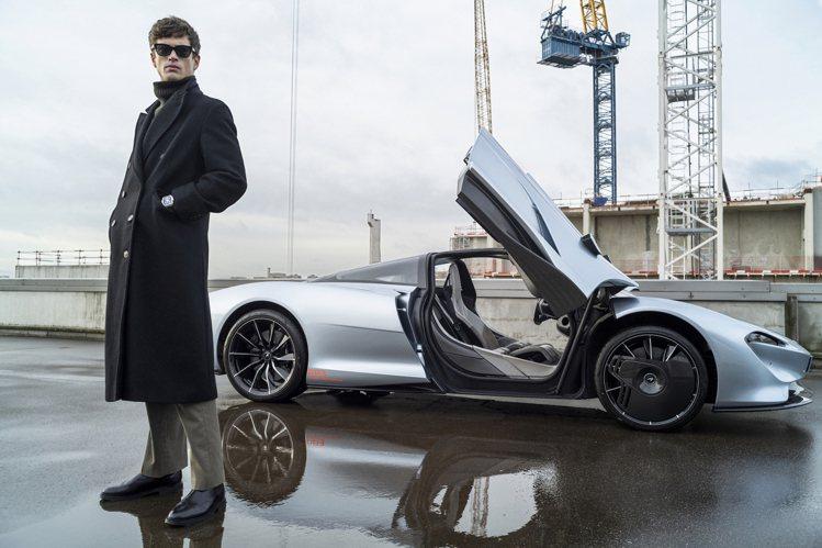 限量生產106輛McLaren Speedtail頂級超跑在大約2018發表前,...
