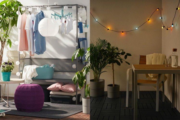 「宅度假」風潮起,花小錢讓自己家好看好拍照。圖/IKEA提供