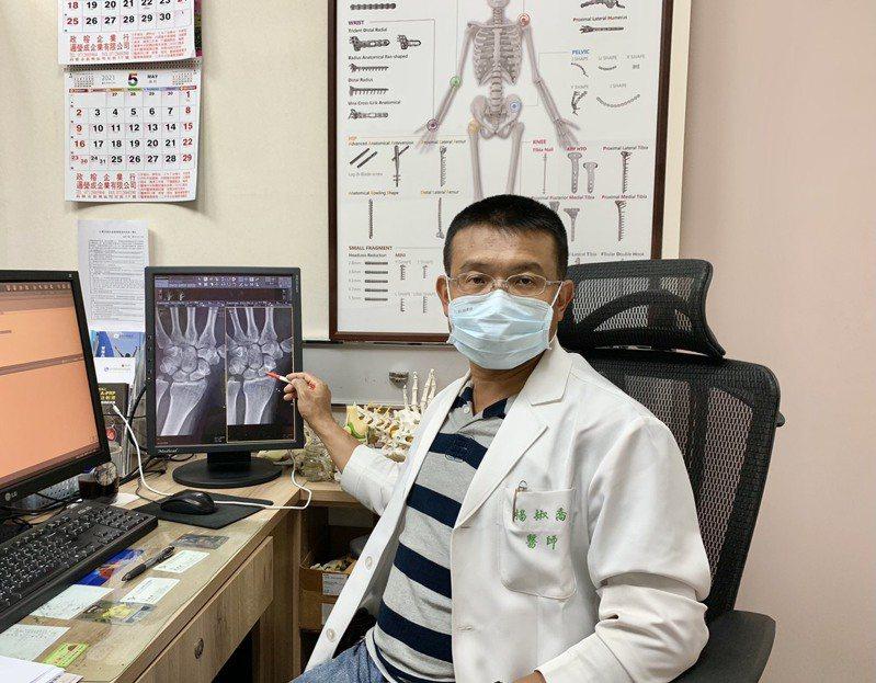 「活力得中山脊椎外科醫院」院長楊椒喬。照片/業者提供