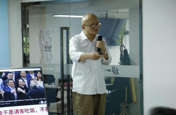 北京航空航太大學戰略問題研究中心教授張文木。圖:取自觀察者網