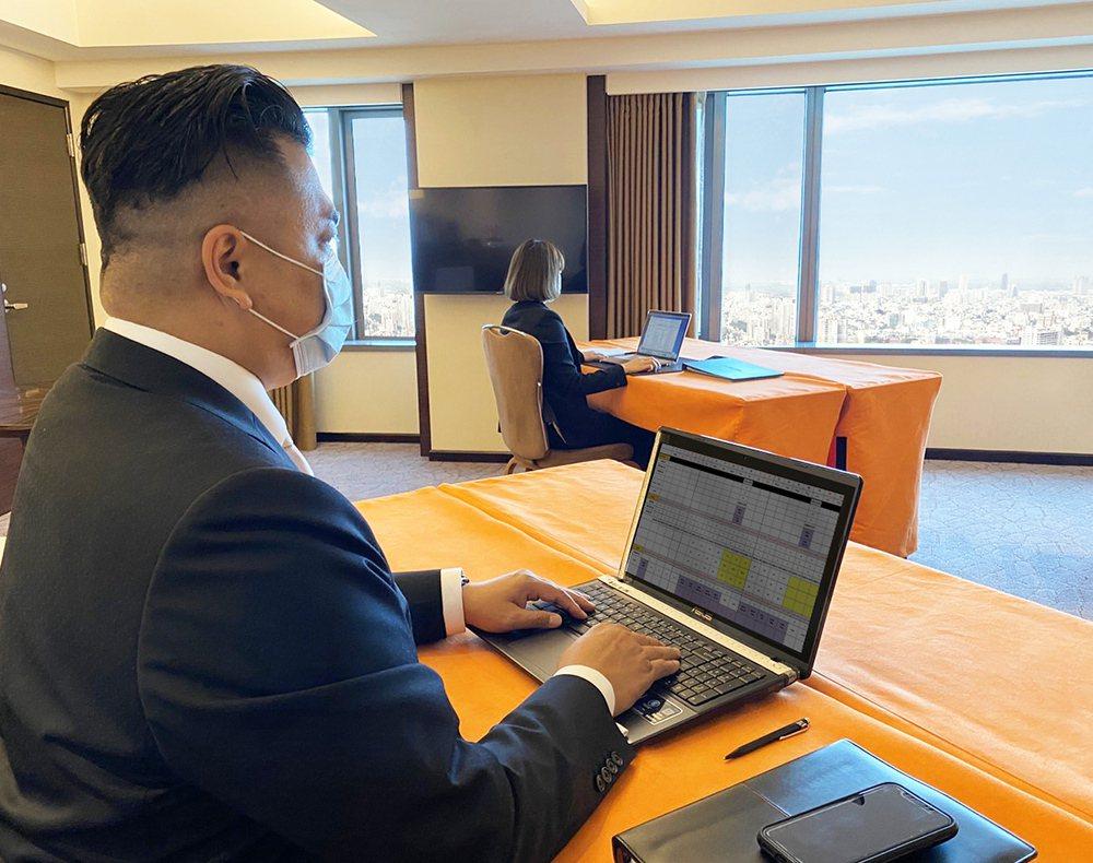 香格里拉台南遠東飯店即日起推出「行動辦公室專案」。照片/業者提供