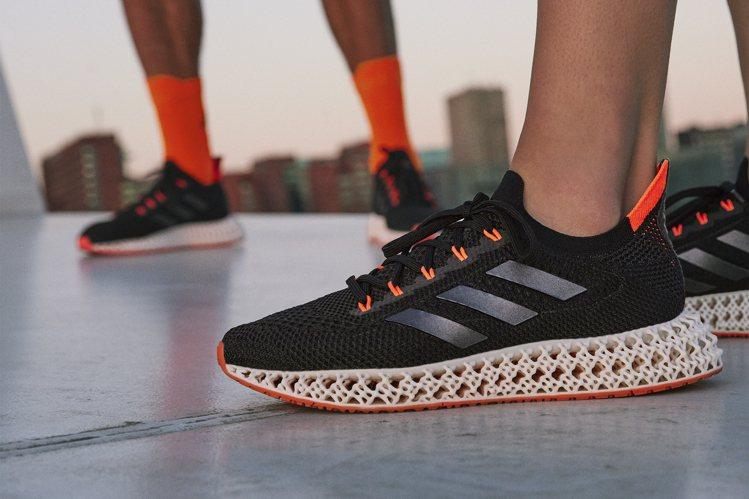 adidas 4DFWD跑鞋7,200元。圖/adidas提供