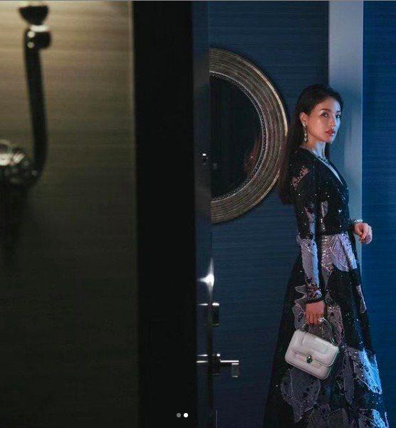 寶格麗代言人舒淇配戴寶格麗頂級珠寶系列現身MAGNIFICA ROMA意遊未盡巡...